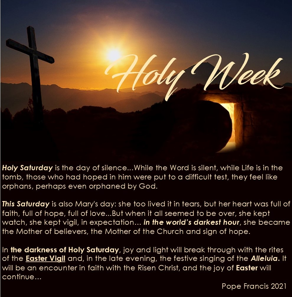 Holy week Easterab